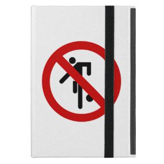 NO Ball Games ⚠ Thai Park Sign ⚠ Case For iPad Mini