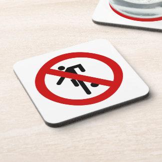 NO Ball Games ⚠ Thai Park Sign ⚠ Coaster