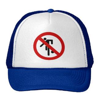 NO Ball Games ⚠ Thai Park Sign ⚠ Trucker Hat