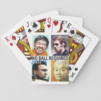 No Ball Required playing cards