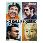 No Ball Required Poster