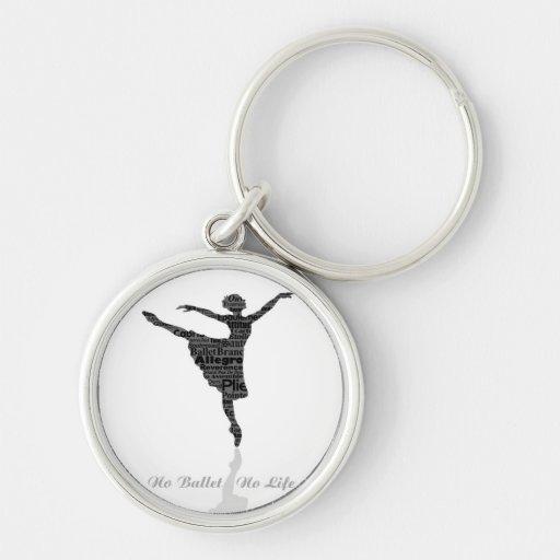 No Ballet No Life Key Chains