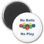 No Balls Bocce Ball Magnet