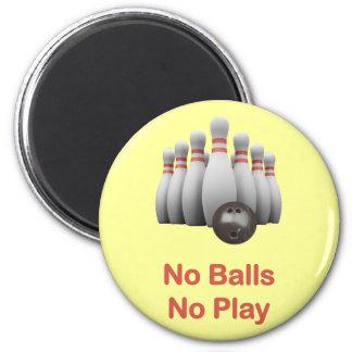 No Balls Bowling Magnets
