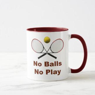 No Balls No Play Tennis Mug