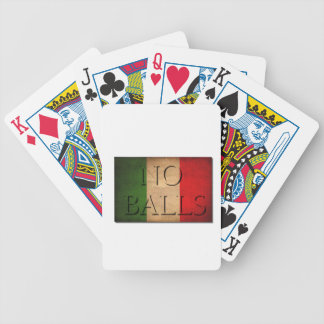 'No Balls' Now Illegal To Say To A Man In Italy Bicycle Playing Cards