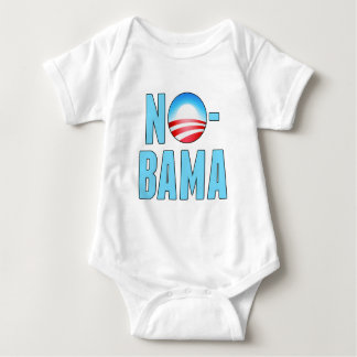 No-Bama Anti Obama Baby Bodysuit