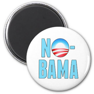 No-Bama Anti Obama Magnet