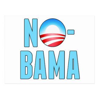 No-Bama Obama anti Postales