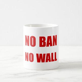 No Ban, No Wall Coffee Mug