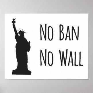 No Ban No Wall - Poster