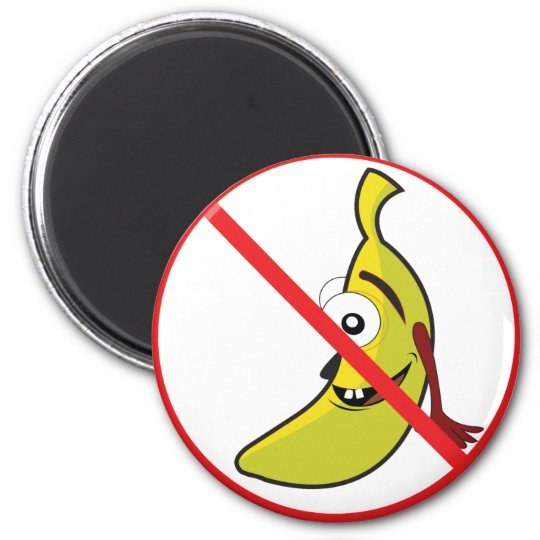 No Bananaheads! Magnet