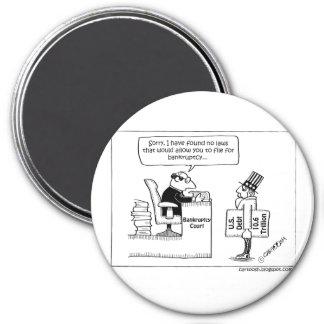 No Bankruptcy Filing for Uncle Sam Magnets