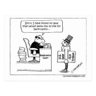 No Bankruptcy Filing for Uncle Sam Postcard