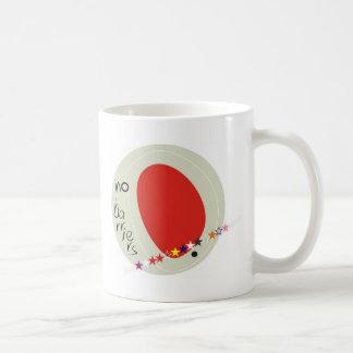No barriers coffee mug