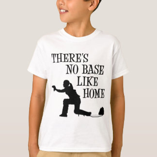 No Base Like Home, black T-Shirt