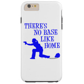 No Base Like Home, blue.png Tough iPhone 6 Plus Case