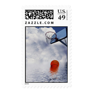No Basketball Today Postage