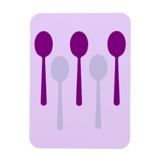 No bastantes cucharas imán