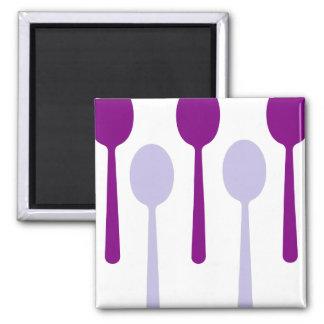 No bastantes cucharas iman para frigorífico