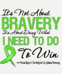 No batalla del linfoma de Hodgkins Camiseta