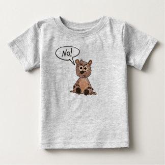 No! Bear Baby T-Shirt