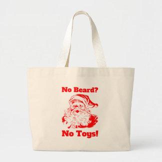 No Beard No Toys Bags