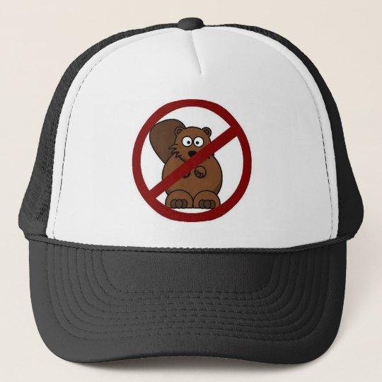 no beavers trucker hat