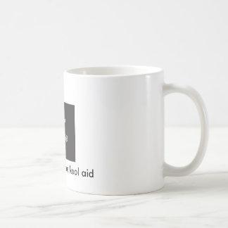No beba la ayuda del kool taza de café