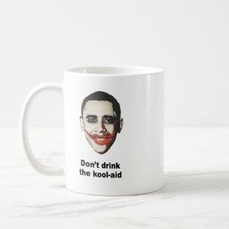 No beba la ayuda del kool tazas de café