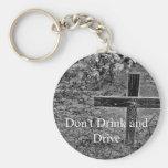 No beba y no conduzca el llavero