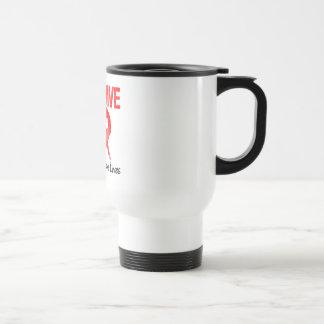No beba y no conduzca taza de café