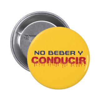 No Beber y Conducir Buttons