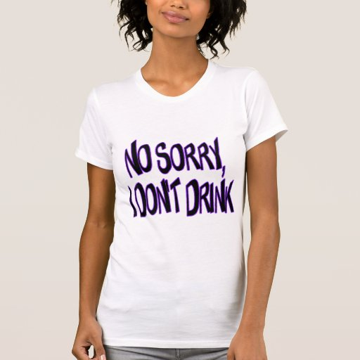 No bebo camiseta