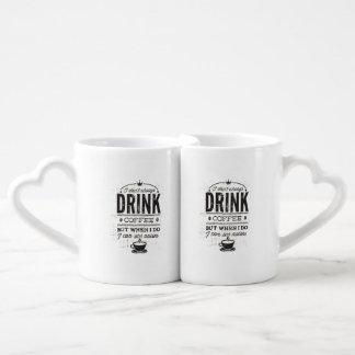 No bebo siempre cita divertida del café… taza amorosa