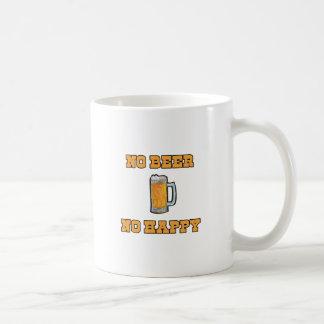 No Beer No Happy Coffee Mug