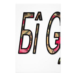 no bigiji.png stationery design