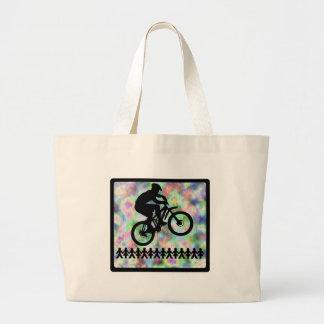 No bike ninguna excepción bolsa de mano