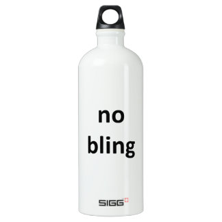 no bling36 jGibney The MUSEUM Zazzle Water Bottle