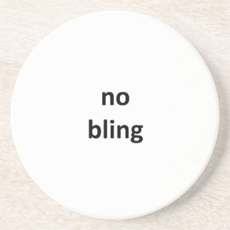 no bling3 jGibney The MUSEUM Zazzle Gifts Beverage Coasters