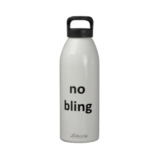 no bling3 jGibney The MUSEUM Zazzle Gifts Water Bottle