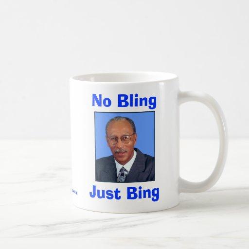 No Bling, Just Bing Classic White Coffee Mug