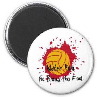 No Blood No Foul 2 Inch Round Magnet