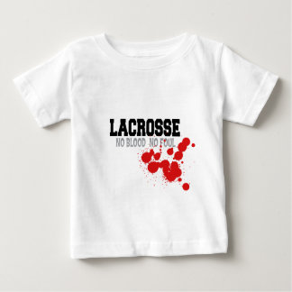 No Blood No Foul Lacrosse Baby T-Shirt