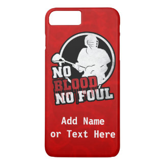 No Blood No Foul Lacrosse Cell Phone Case