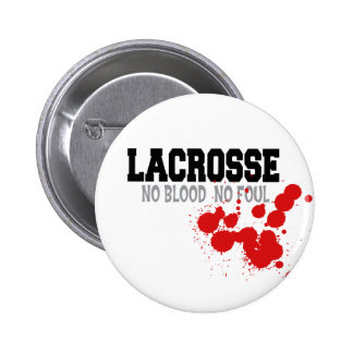 No Blood No Foul Lacrosse Gift Pins
