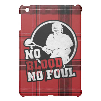 No Blood No Foul Lacrosse iPad Cover