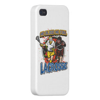 No Blood, No Foul Lacrosse iPhone 4 Case