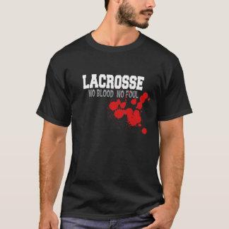 No Blood No Foul Lacrosse Men's T-Shirt