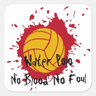 No Blood No Foul Sticker